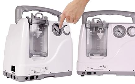 دستگاه ساکشن ریه خانگی